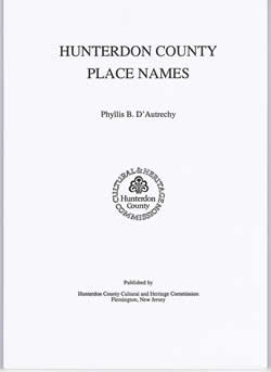 Hunterdon County Place Names